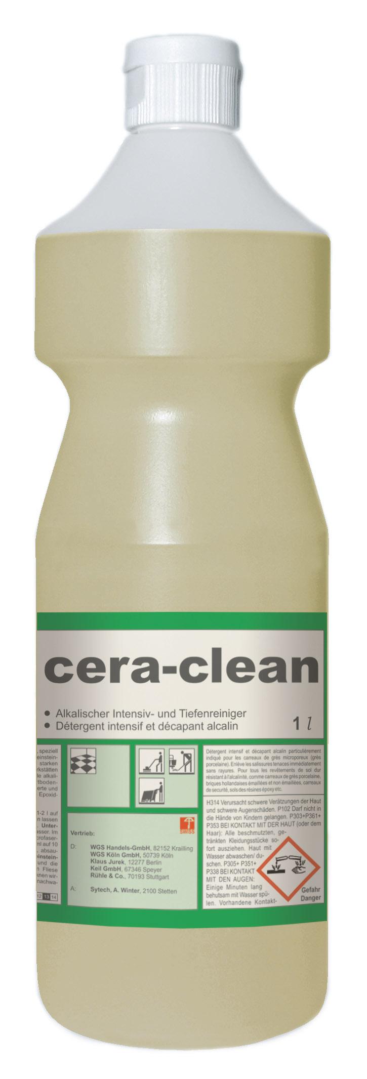 Pramol cera-clean Feinsteinzeugreiniger, 1 Flasche, 1 Liter