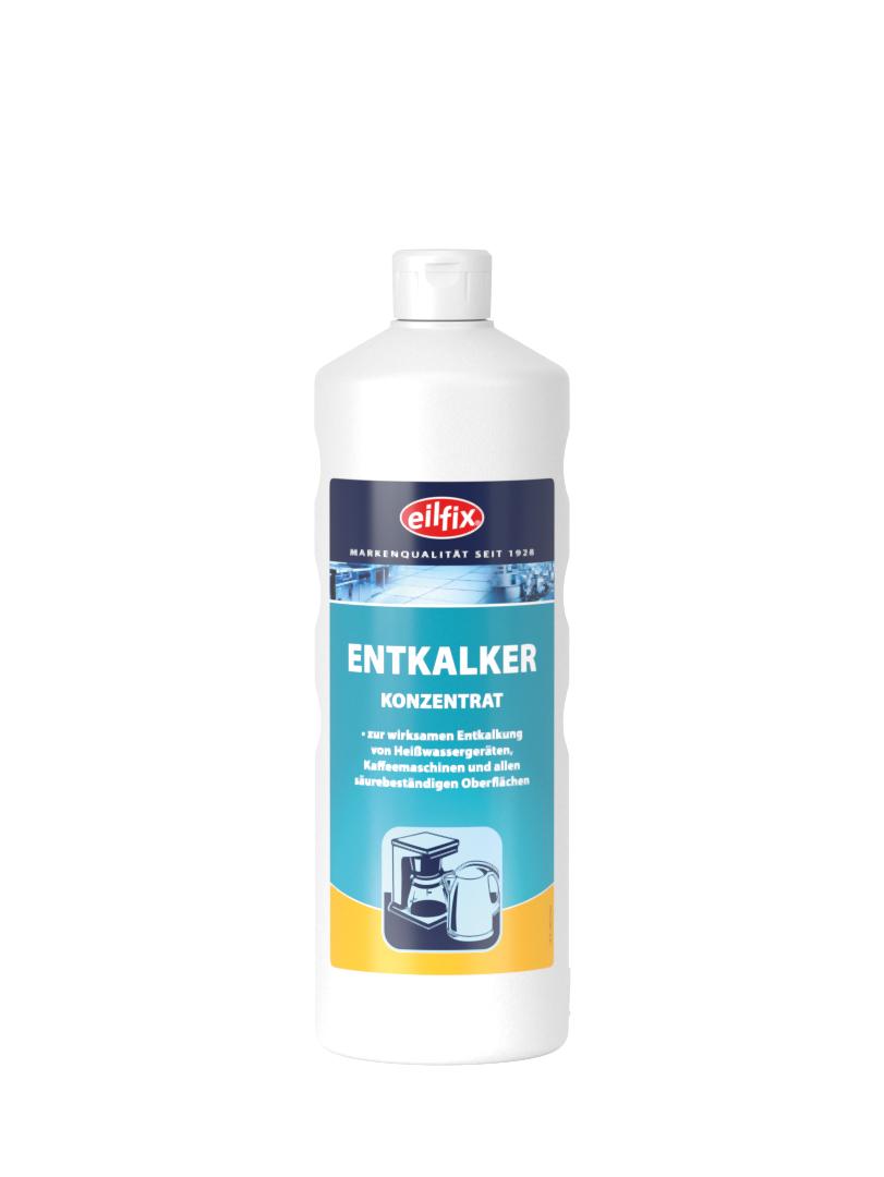 eilfix Entkalker Konzentrat für Heißwassergeräte, sauer, flüssig, 1 Liter