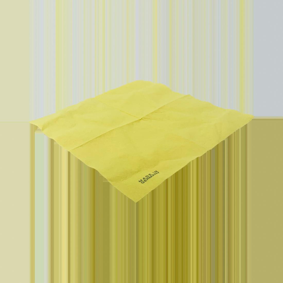 Vlies-Allzwecktuch ca. 110g/m², 300 Stück/Karton, gelb, 38 x 38 cm
