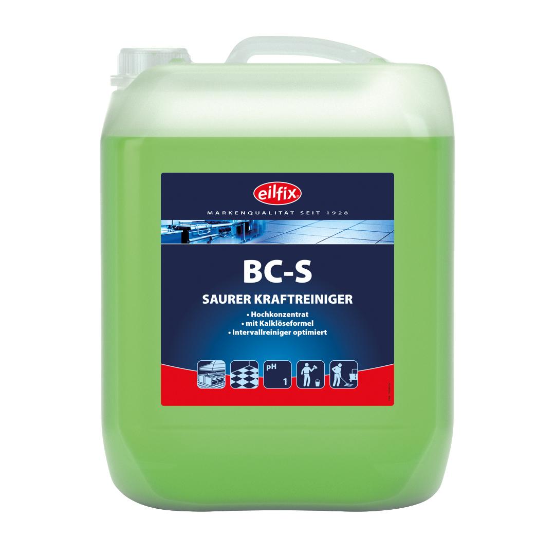 eilfix BC-S saurer Kraftreiniger (Entkalker), Hochkonzentrat, 10 Liter