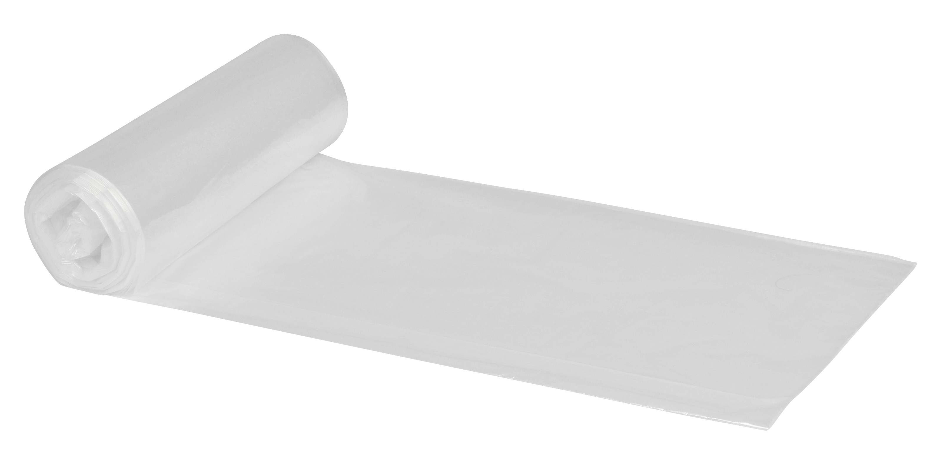 Poly -Line Müllbeutel, 15my, LDPE, 28 x 50 Stück, transparent, 50 x 60 cm/30 Liter