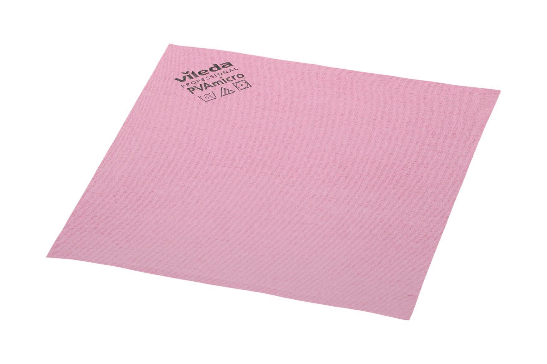 Vileda PVA Micro, 5 Stück/Packung, rot, 38 x 35 cm