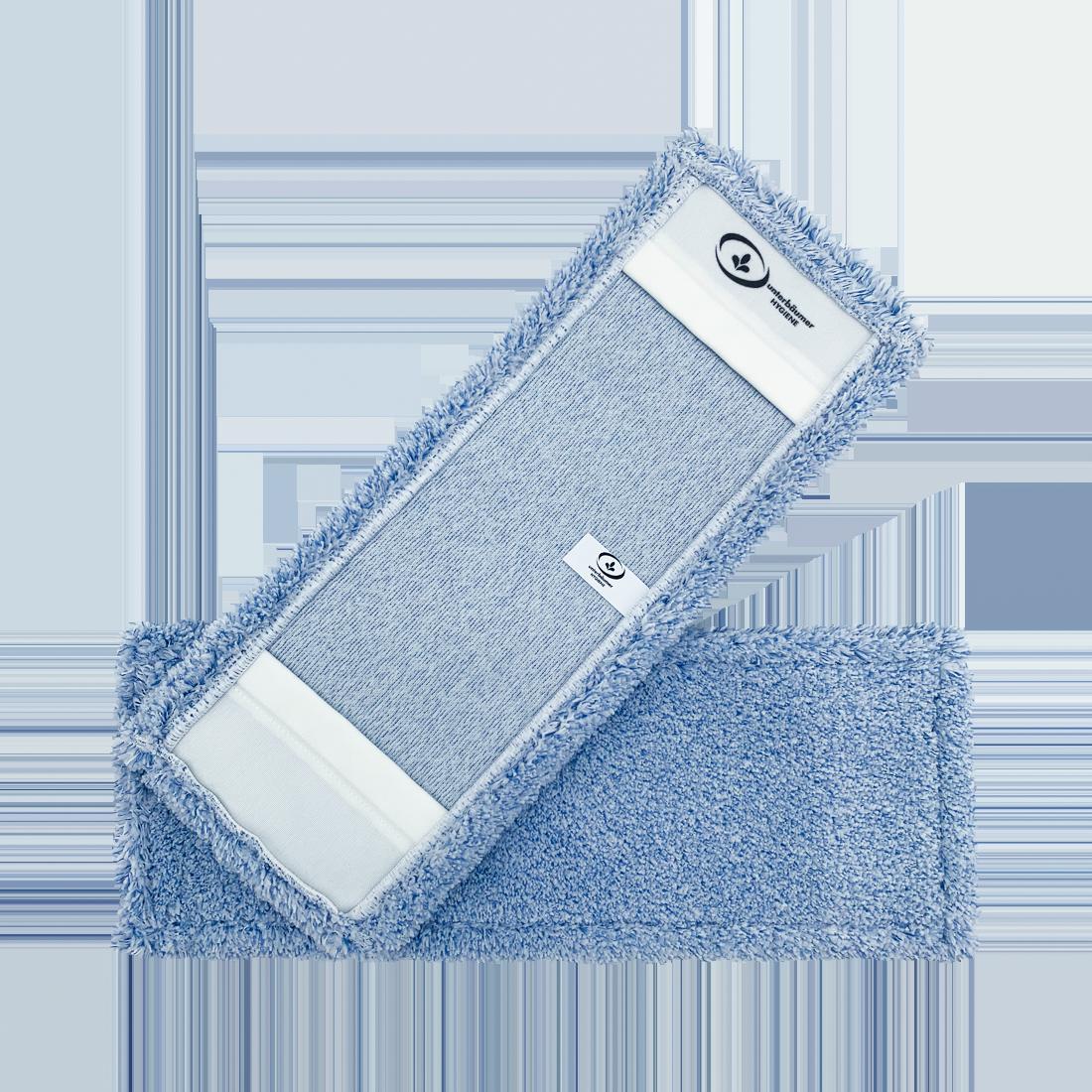 UH PREMIUM Microfasermopp BLUE, für alle Böden geeignet, blau, 40 cm