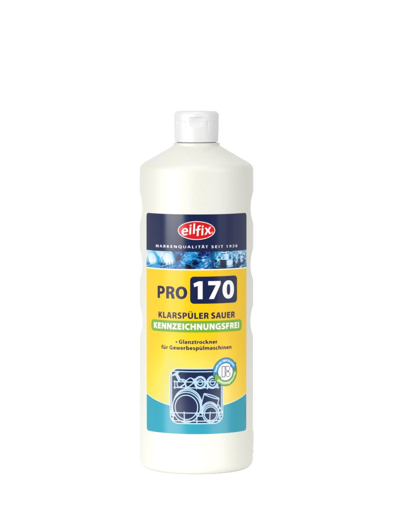 eilfix PRO170 Klarspüler sauer GREEN, kennzeichnungsfrei, 1 Liter