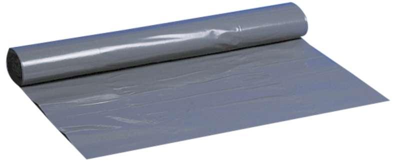 Poly-Line Müllbeutel, 55 my, LDPE, 30 x 10 Stück, grau, 55 x 80 cm/ 40 Liter