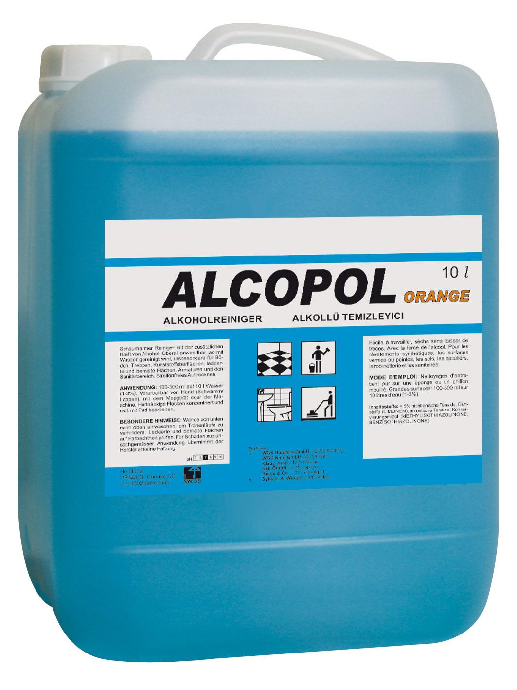 Pramol ALCOPOL orange Alkoholreiniger, 10 Liter
