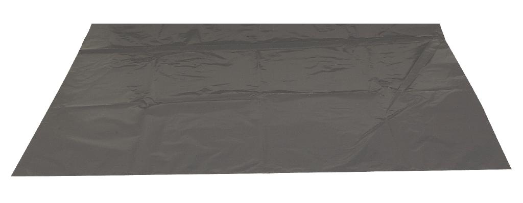 Poly-Line Abfallsack ,70 my, LDPE, 100 Stück/Karton, grau, 88x110cm/ 140 Liter