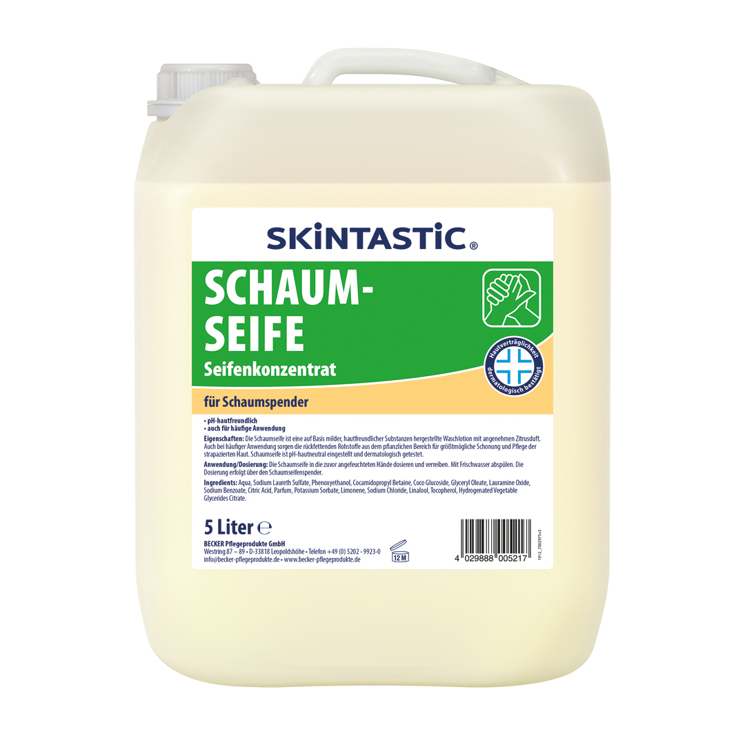 eilfix Schaumseife, Nachfüllkanister, 5 Liter