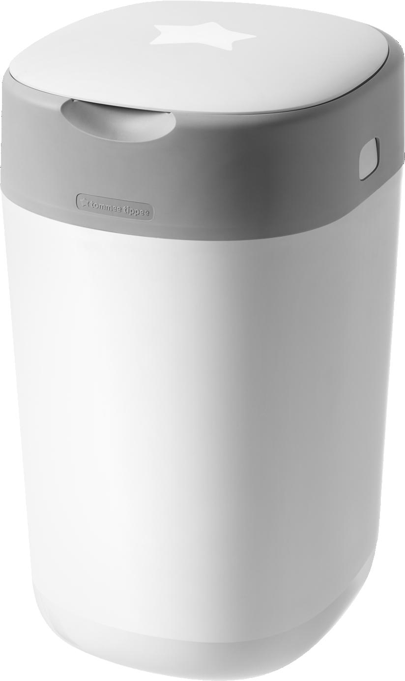 Easiseal Entsorgungssystem für Babywindeln, grün/weiß, 17 Liter