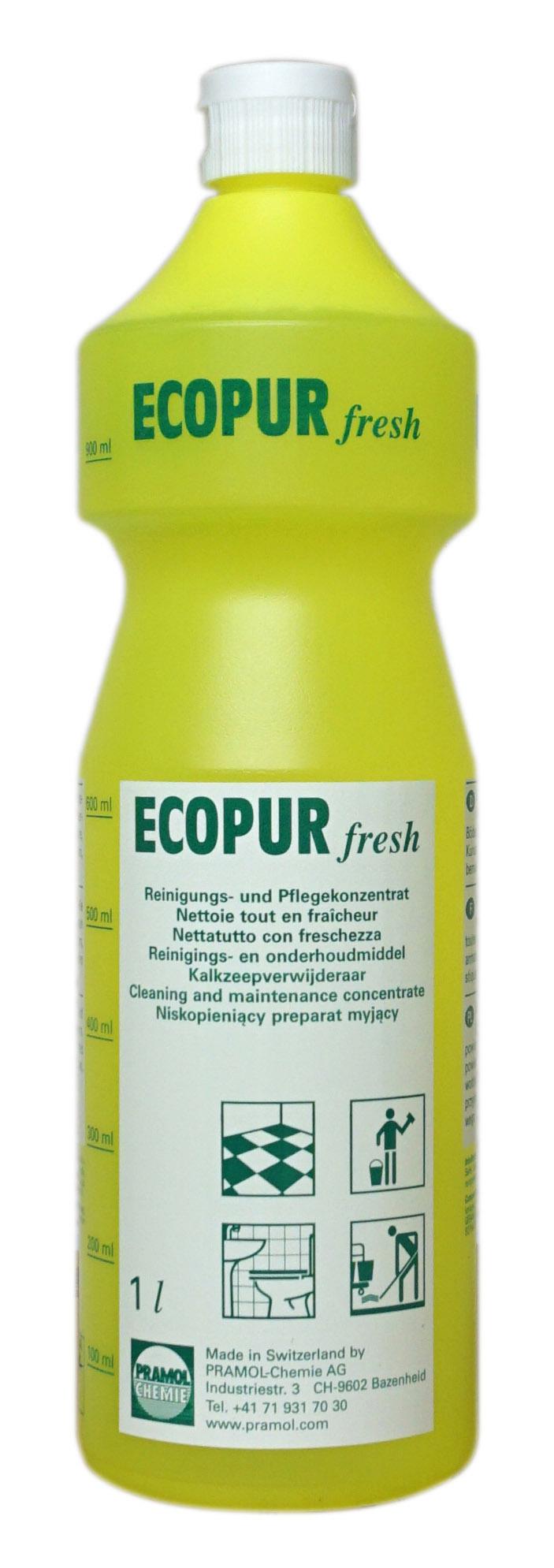 Pramol ecopur fresh, Reinigungs- und Pflegekonzentrat, 1 Liter
