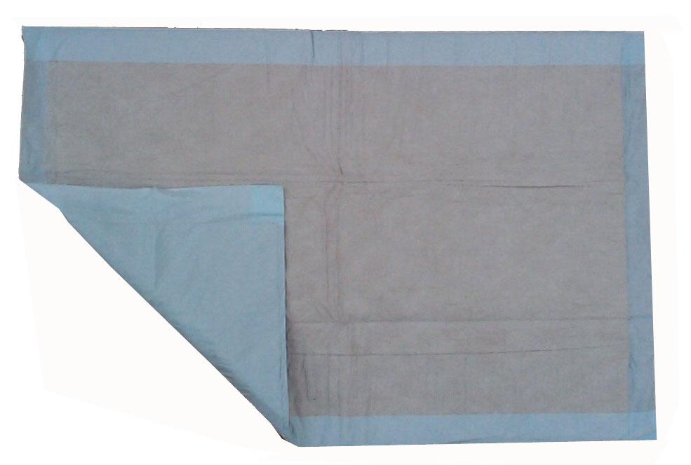 forma-care Wickeltischauflage, Zellstoff, 10-lagig, 100 Stück, blau, 60 x 60 cm