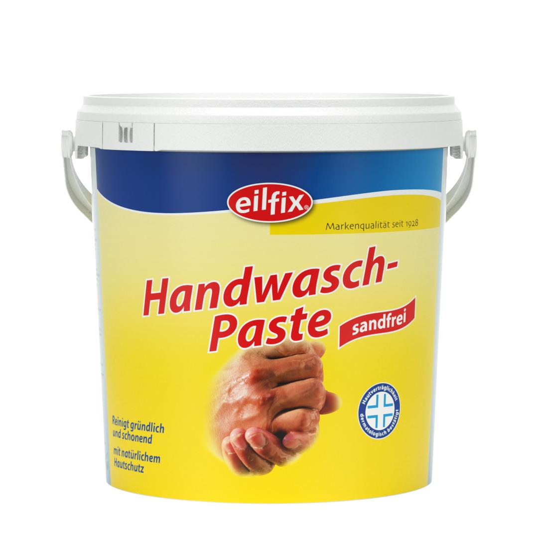 eilfix Handwaschpaste, sandfrei, auf Holzmehlbasis, gelb, 10 Liter