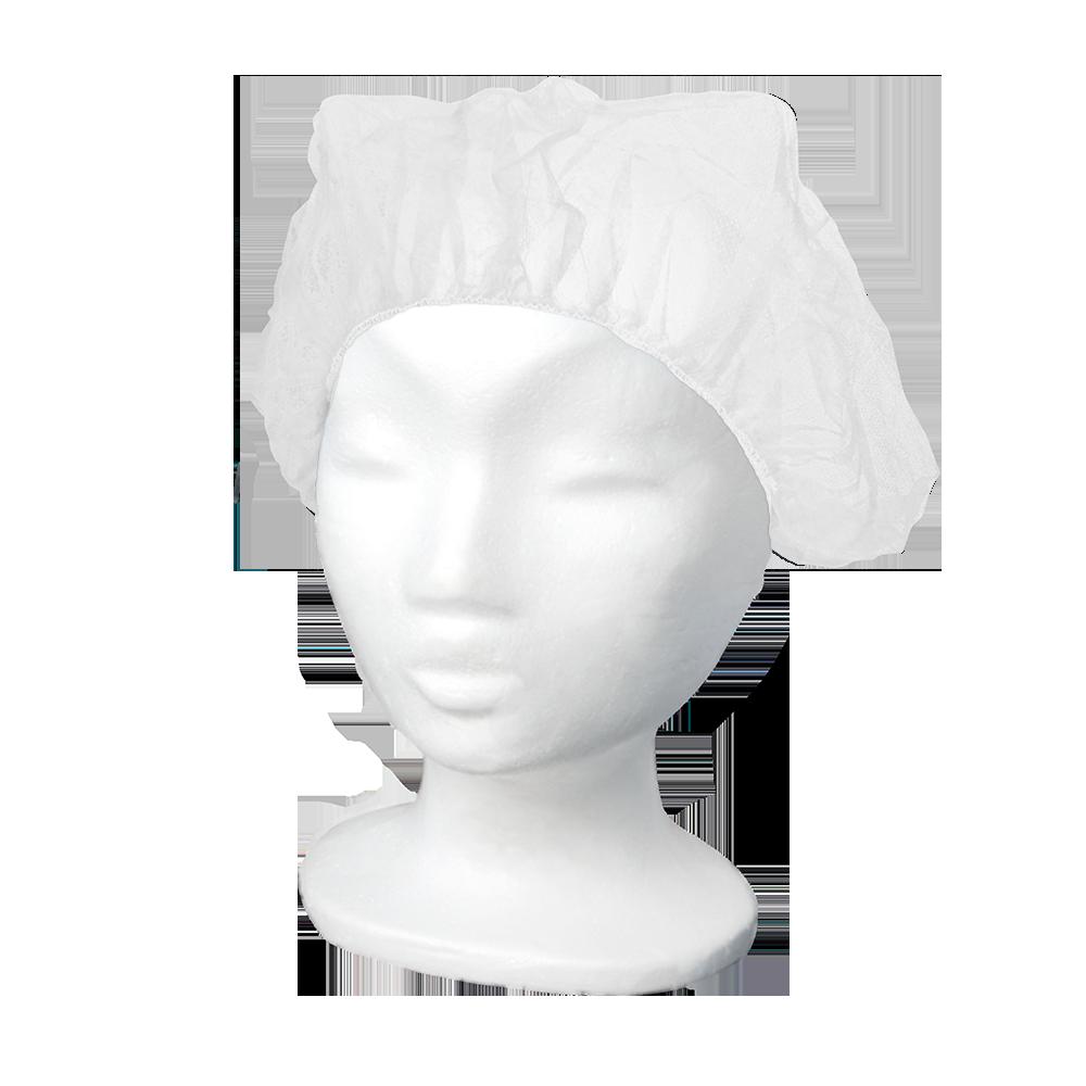 MaiMed-Cap B, Baretthaube aus PP, weiß, 100 Stück/Box