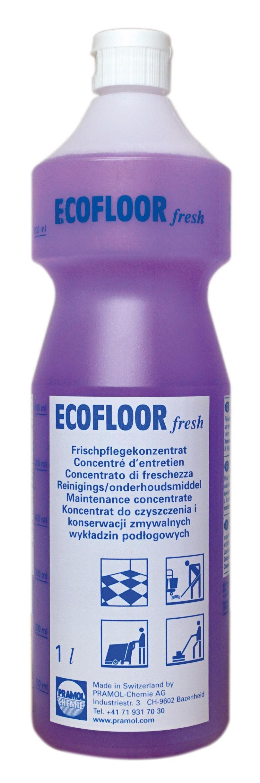 Pramol ECOFLOOR fresh, Wischpflege auf Polymerbasis, erfüllt DIN18032, 1 Liter