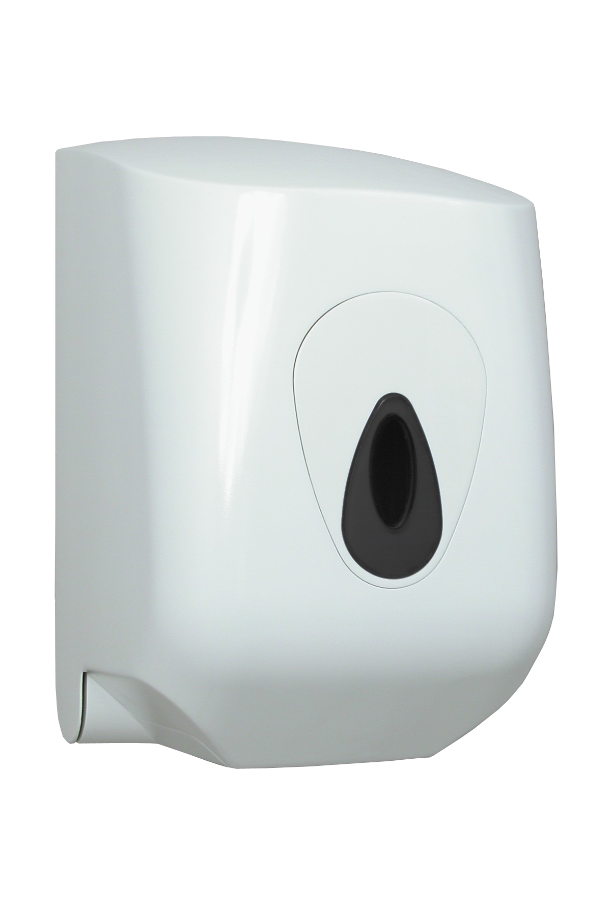 Handtuchrollenspender Midi, ABS Kunststoff, Innenabrollung, weiß, 35 x 23 x 23 cm