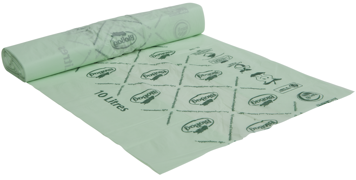 Bio-Abfallbeutel, 20 x 25 Stück, grün, 43 x 45 cm/10 Liter