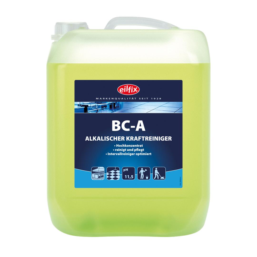 eilfix BC-A alkalischer Kraftreiniger (Fettlöser), Hochkonzentrat, 10 Liter