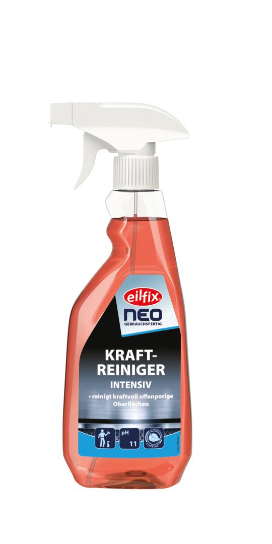 eilfix NEO Kraftreiniger, gebrauchsfertig, mit praktischem Schaumsprühkopf, rot, 500 ml