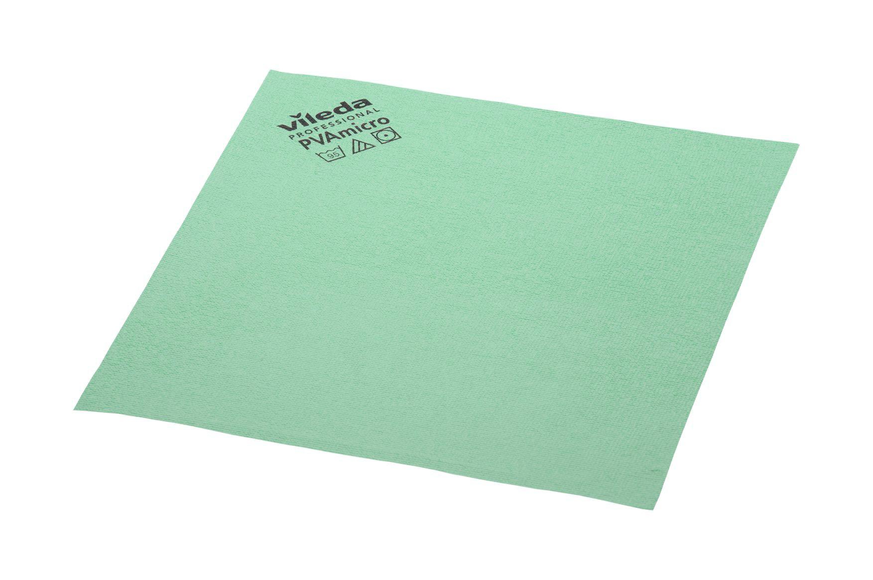 Vileda PVA Micro, 5 Stück/Packung, grün, 38 x 35 cm