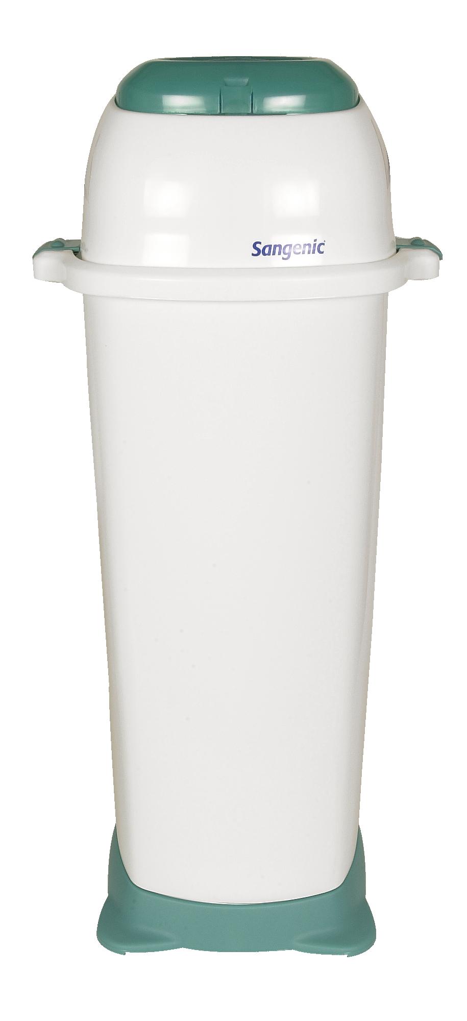 Easiseal Entsorgungssystem für Babywindeln, grün/weiß, 36 Liter
