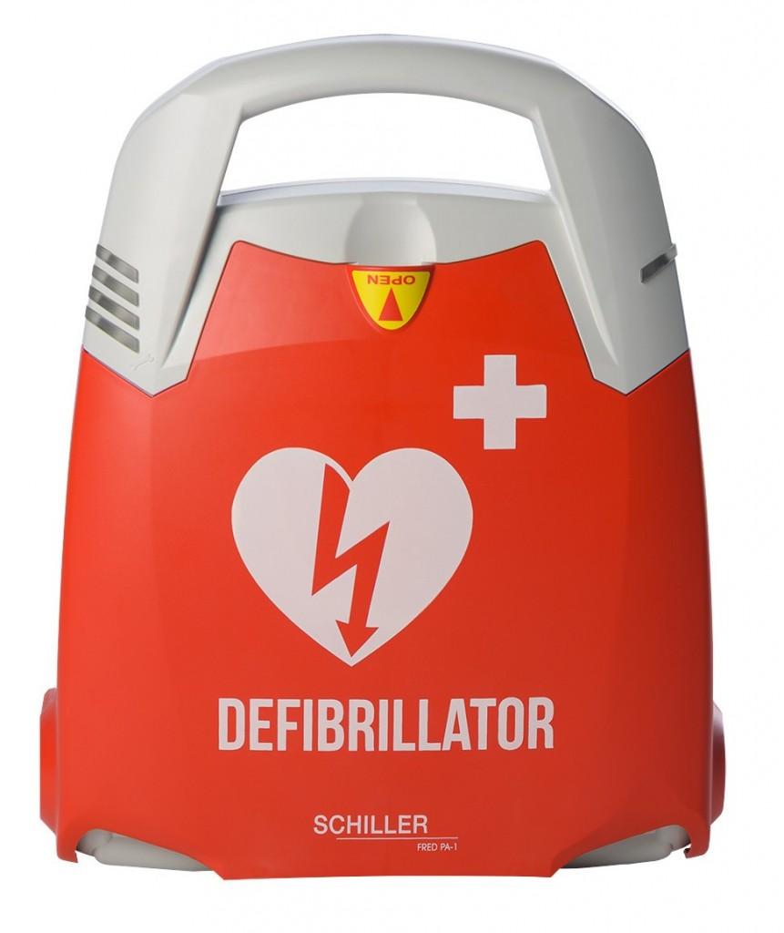 AKTION !!! Fred PA-1 Defibrillator (Vollautomat) inkl. Wandkasten und Vor-Ort-Einweisung