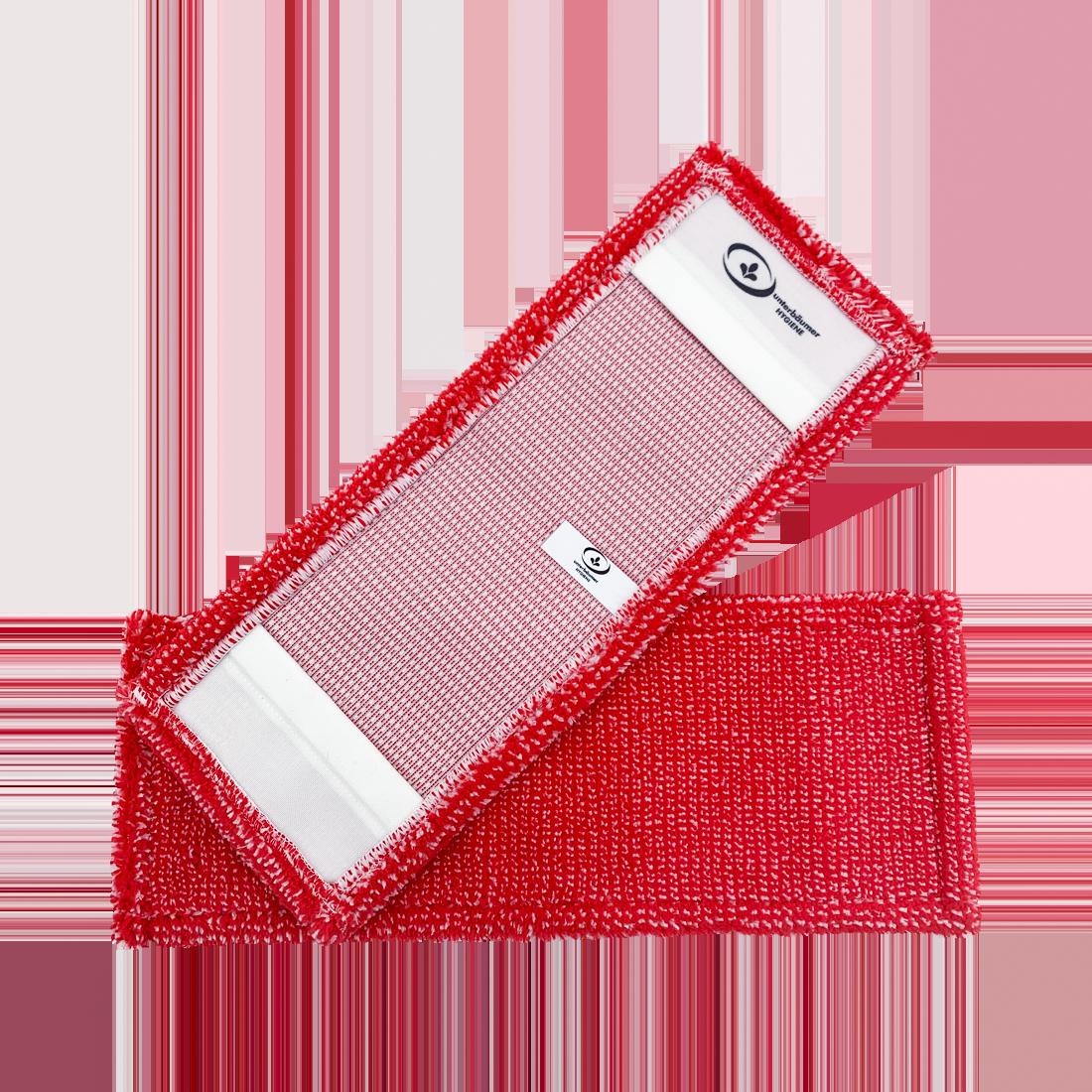 UH PREMIUM Microfasermopp RED, für den Sanitärbereich, rot, 40 cm