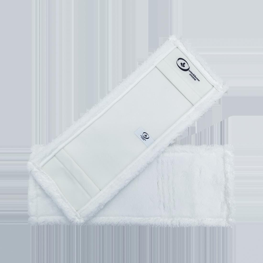 UH PREMIUM Microfasermopp WHITE, für alle Böden geeignet, weiß, 40 cm