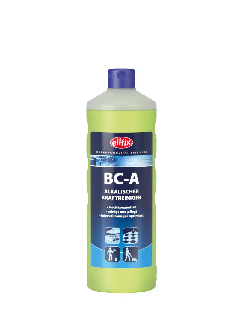 eilfix BC-A alkalischer Kraftreiniger (Fettlöser), Hochkonzentrat, 1 Flasche, 1 Liter