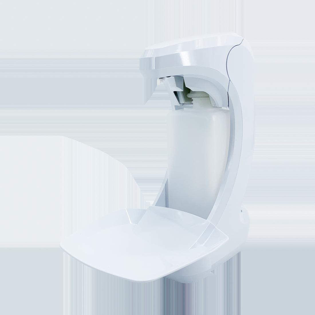RX5T Sensor-Desinfektionsspender, Touchless, Kunststoff, Kunststoffpumpe, weiß, 500 ml