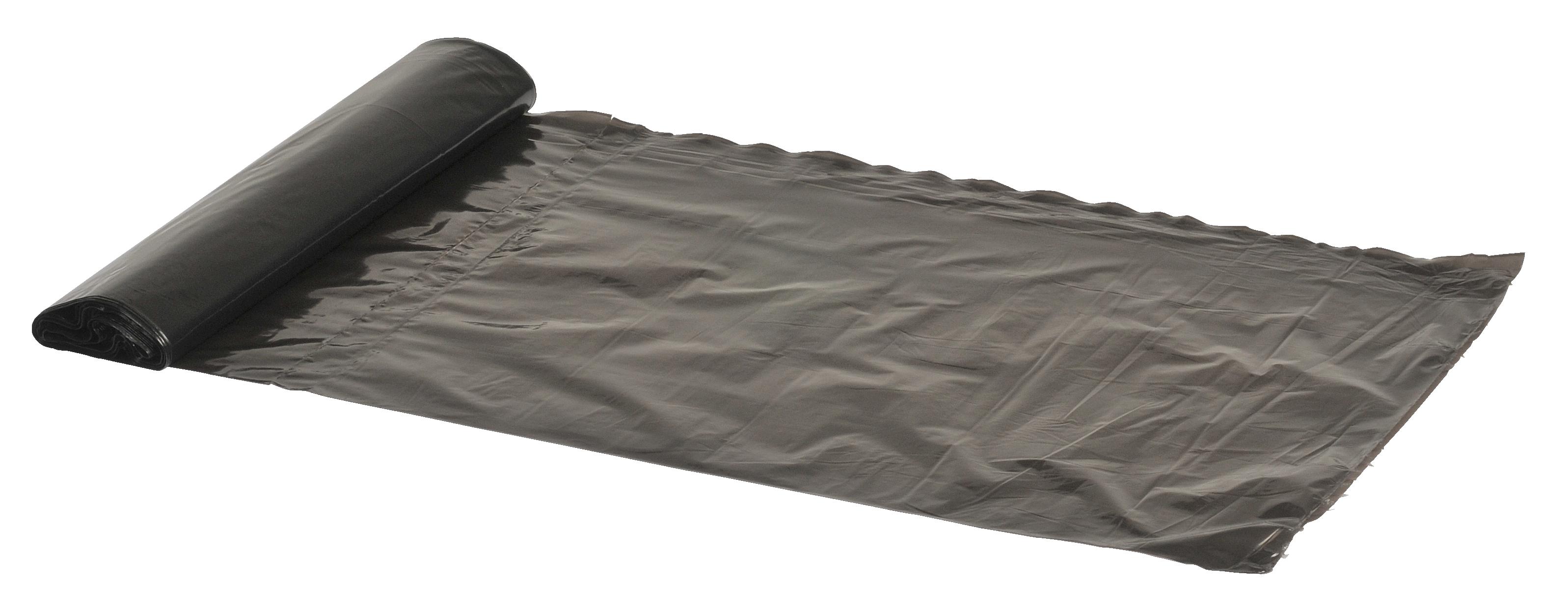 Poly-Line Müllbeutel, 20 my, LDPE, 32 x 24 Stück, grau, 50 x 65 cm/ 30 Liter
