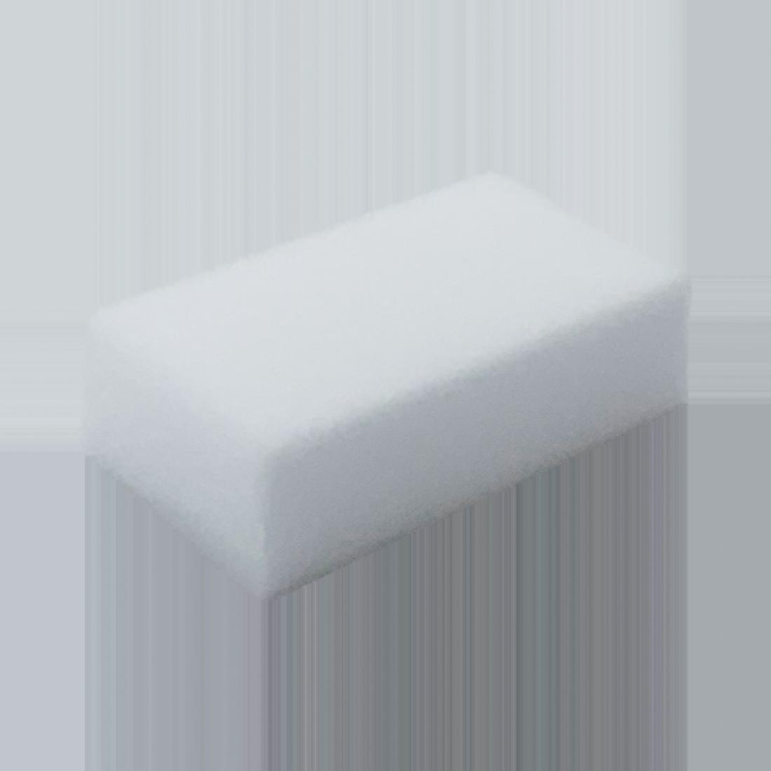 UH-Melaminschwamm, Schmutzradierer, Fleckenentferner, weiß, 12 x 7 x 3 cm