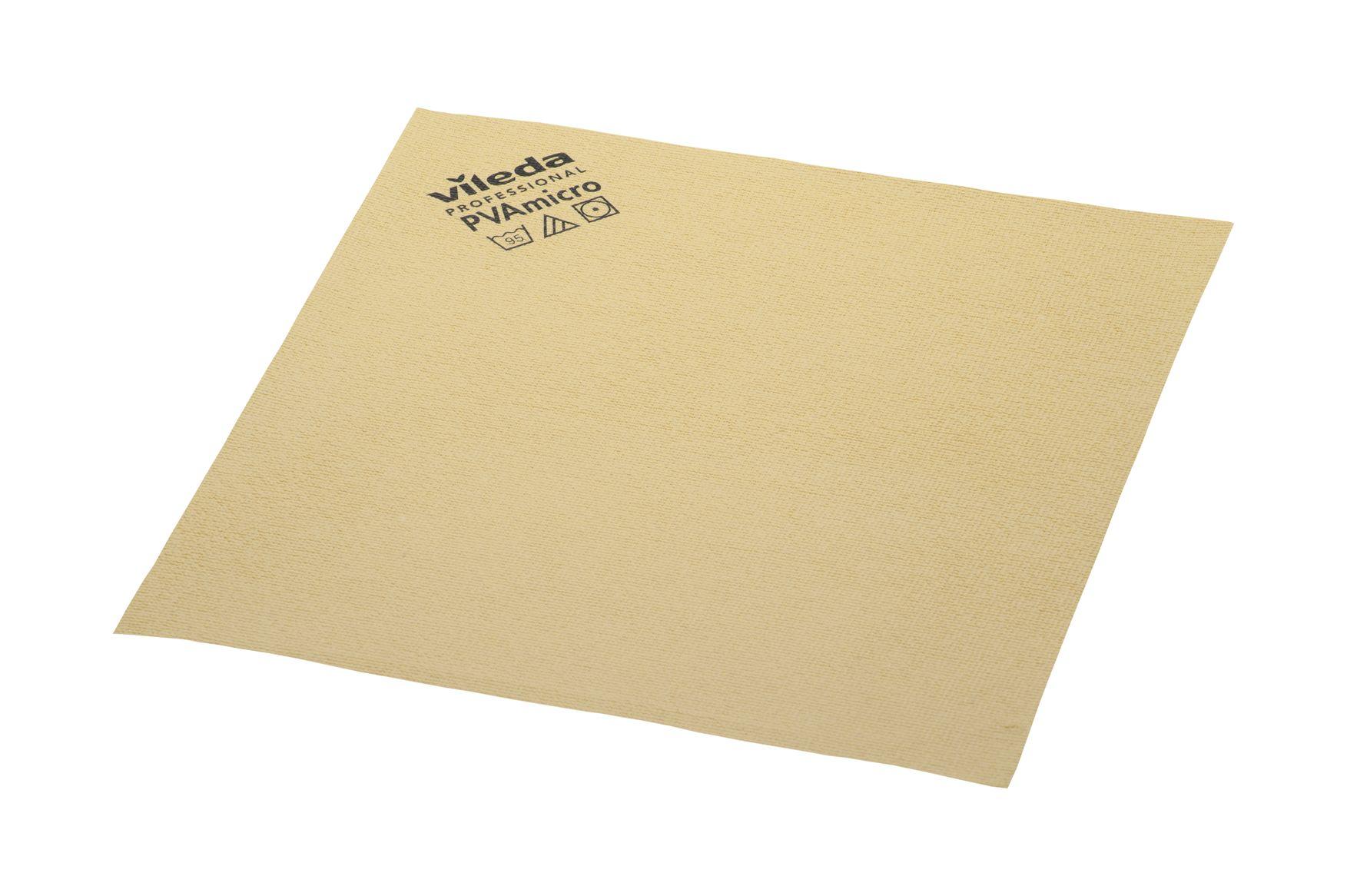 Vileda PVA Micro, 5 Stück/Packung, gelb, 38 x 35 cm