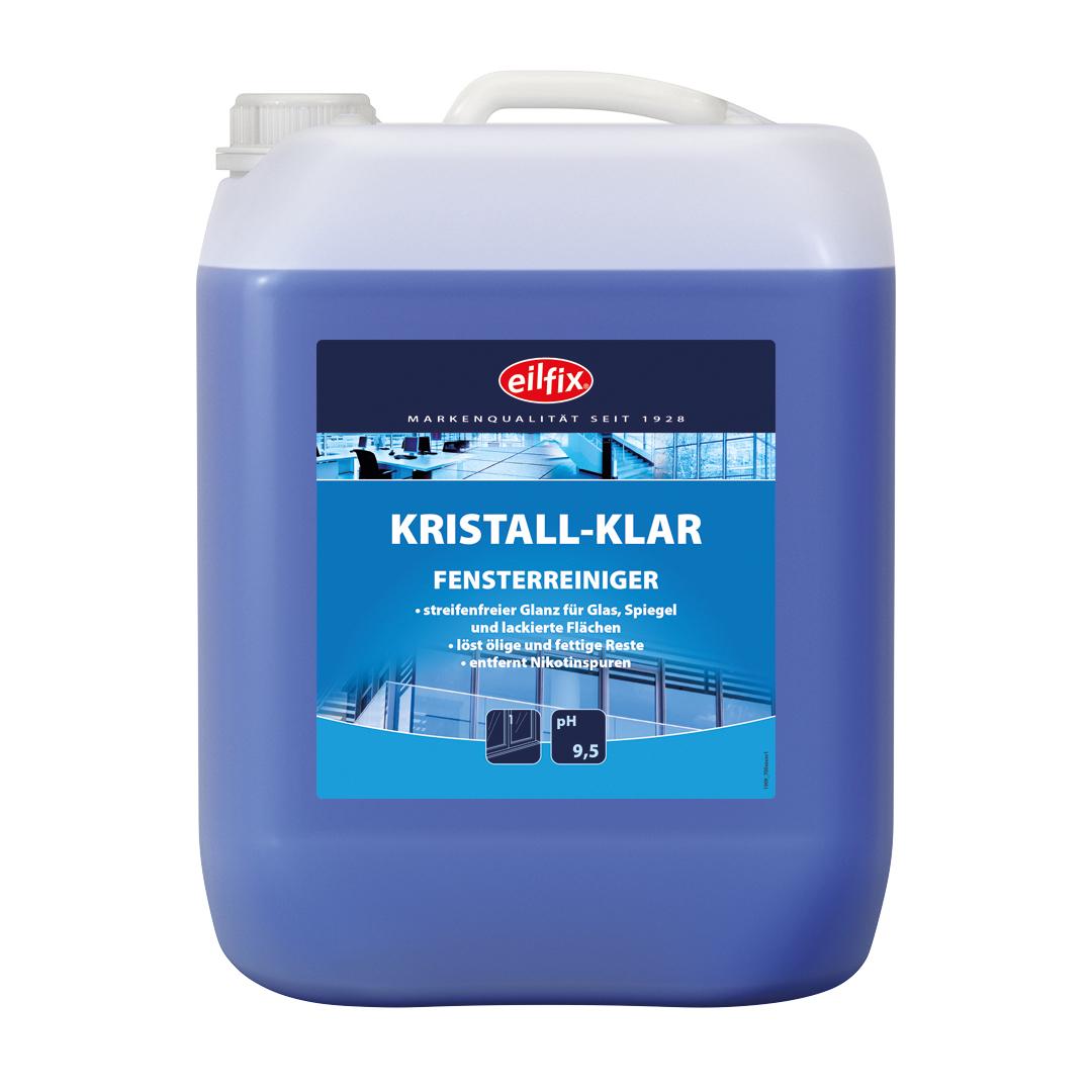 eilfix Kristall-Klar Glasreiniger, 10 Liter