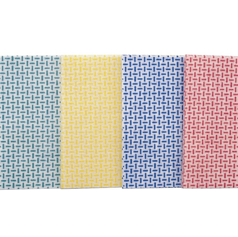 Universaltuch, 145 g/qm, 10 Stück/Packung, rot/weiß, 35 x 40 cm