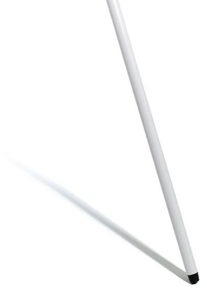 Besenstiel, Glasfaser mit Gewinde, weiß, 150 cm/25 mm